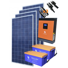 Автономная солнечная электростанция 7700 Вт∙ч/сутки