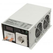 Инвертор СибКонтакт ИС-24-1500У инвертор DC-AC, 24В/1500Вт