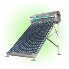 Солнечный водонагреватель с DVT трубками 100 литров Эконом
