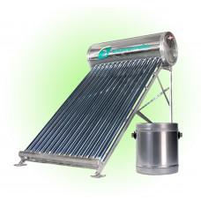 Солнечный водонагреватель с DVT трубками 100 литров Стандарт